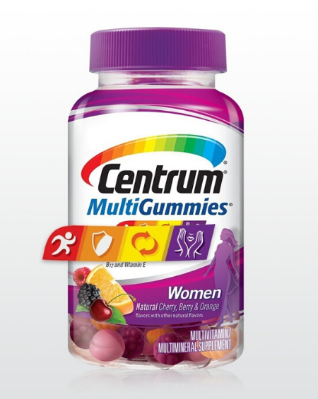 CENTRUM - CENTRUM WOMEN MULTIGUMMIES– 150 Gomas