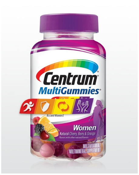 CENTRUM - CENTRUM WOMEN MULTIGUMMIES– 150 Gomas