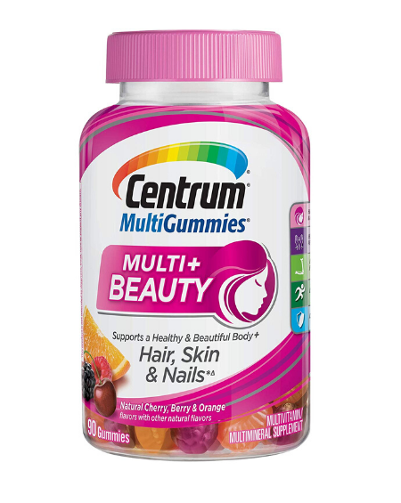 CENTRUM - CENTRUM MULTIGUMMIES–MULTY BEAUTY Hair, skin & nails 90 Gomas