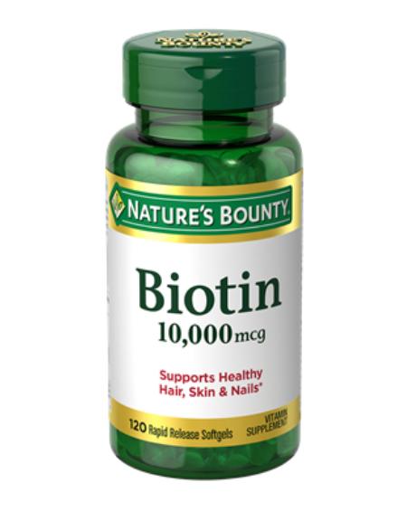 NATURE'S BOUNTY – Biotina