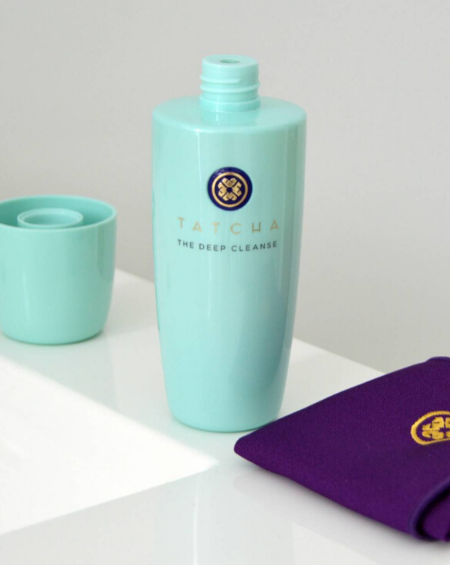 TATCHA – THE DEEP CLEANSE EXFOLIATING CLEANSER
