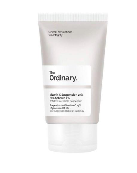 THE ORDINARY - Vitamin C Suspension 23% + HA (ácido hialurónico) Spheres 2%