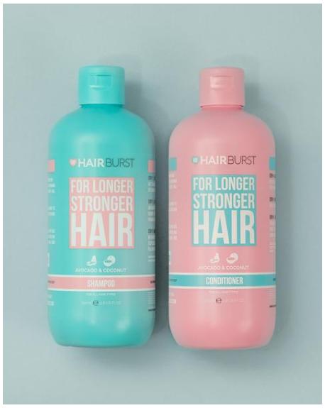 HAIR BURST - SHAMPOO & CONDITIONER FOR LONGER STRONGER HAIR