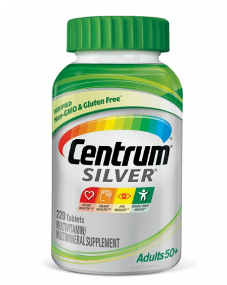 CENTRUM - CENTRUM SILVER ADULTS– 220 Tablets