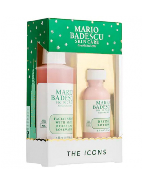 MARIO BADESCU - The Icons: Drying Lotion & Rose Facial Spray Duo