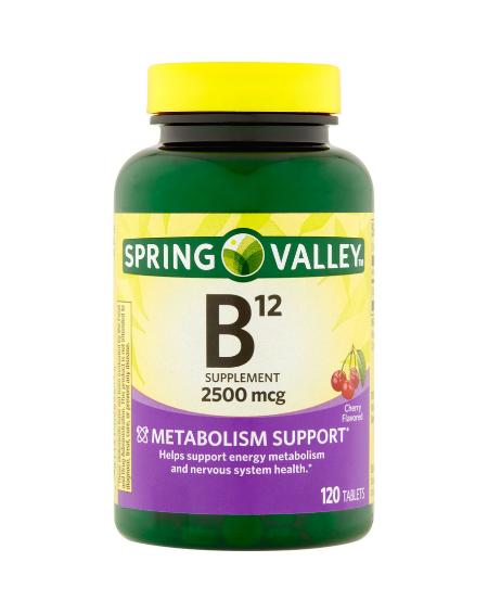 SPRING VALLEY -  VITAMIN B12