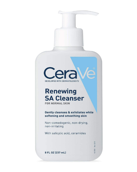 CERAVE –  Renewing SA Cleanser